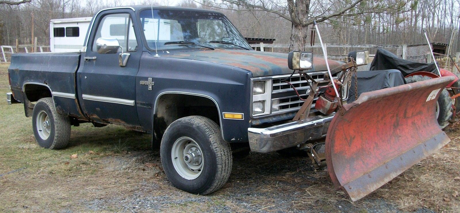 1987 Chevrolet Silverado 10 4wd Pick Up Truck With Western