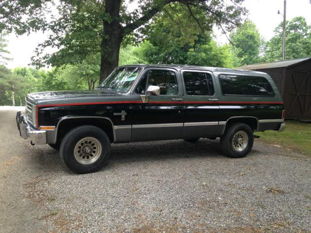 Chevy 6 2 Diesel Truck For Sale >> 1987 Chevrolet Suburban Diesel 4x4 - Classic Chevrolet Suburban 1987 for sale