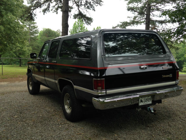 1987 chevrolet suburban diesel 4x4 classic chevrolet. Black Bedroom Furniture Sets. Home Design Ideas