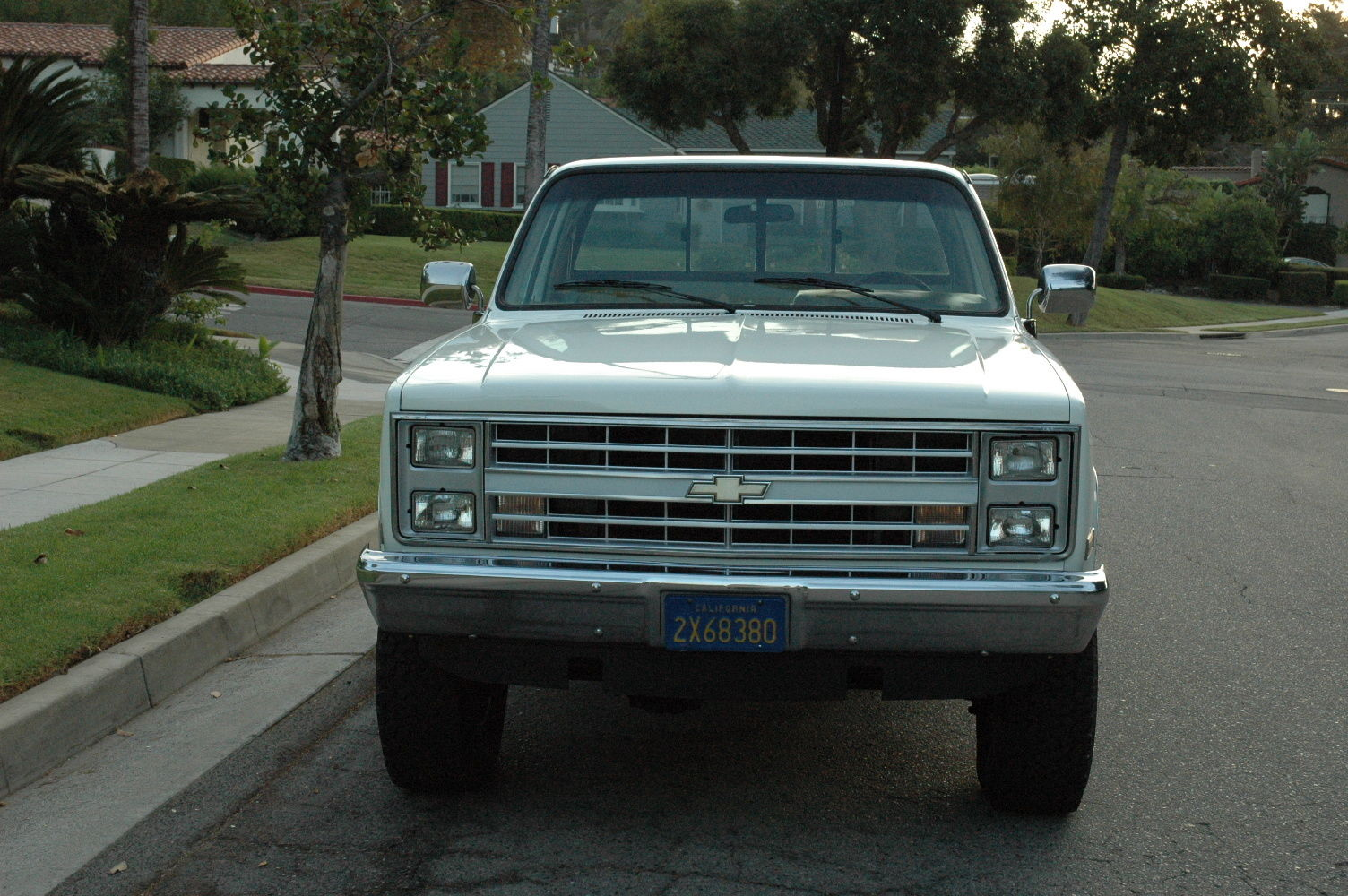 1987 chevy silverado 3 4 ton 4x4 fuel injection truck classic chevrolet blazer 1987 for sale. Black Bedroom Furniture Sets. Home Design Ideas