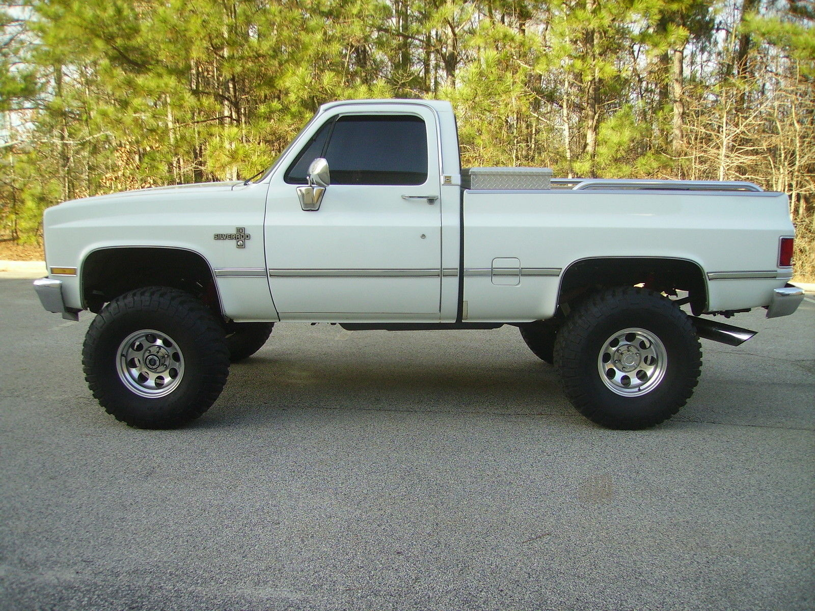 Chevy Trucks For Sale Craigslist >> 1987 Chevy Silverado 4X4 SWB Truck 350 FI Engine P/S P/B A/C Heat New Tires NICE - Classic ...