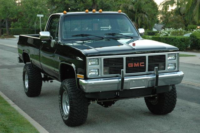 1987 chevy truck 1 ton 4x4 3500 classic gmc sierra 3500. Black Bedroom Furniture Sets. Home Design Ideas