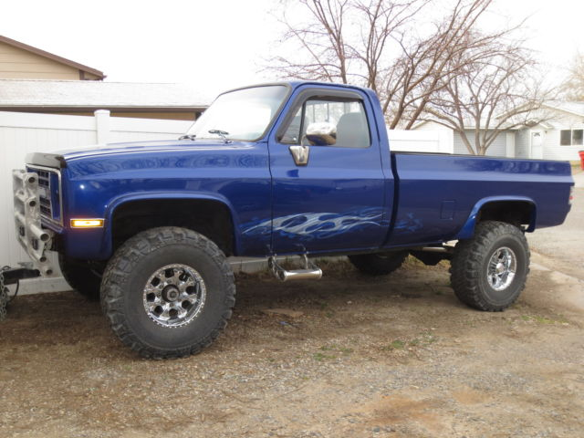 1987 custom chevrolet c k 2500 pickup 4wd lifted classic chevrolet c k pickup 2500 1987 for sale. Black Bedroom Furniture Sets. Home Design Ideas