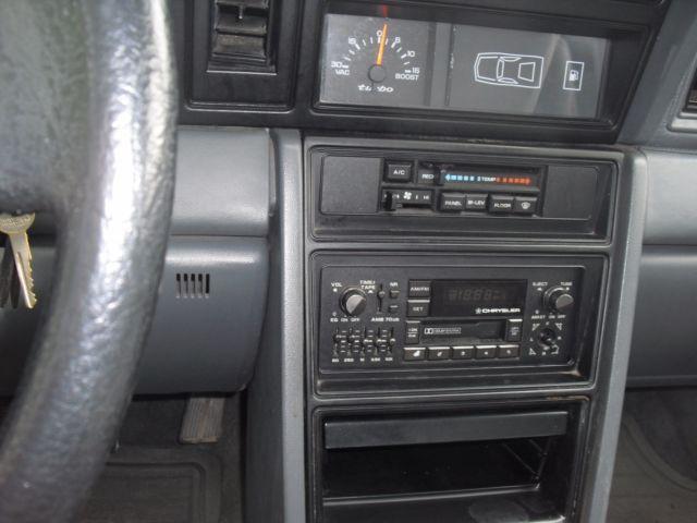 1987 Dodge Daytona Turbo Z Classic Dodge Daytona 1987