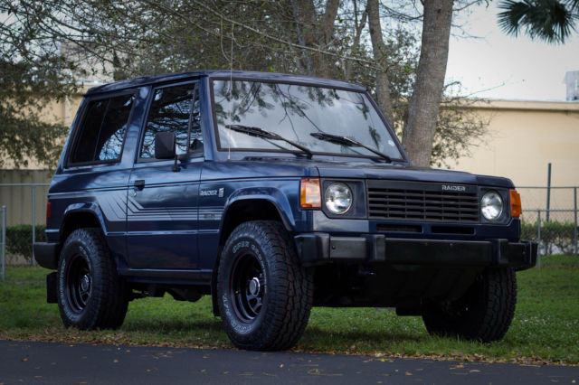 Dodge Raider For Sale >> 1987 Dodge Raider 4cyl Mitsubishi Montero Classic Dodge