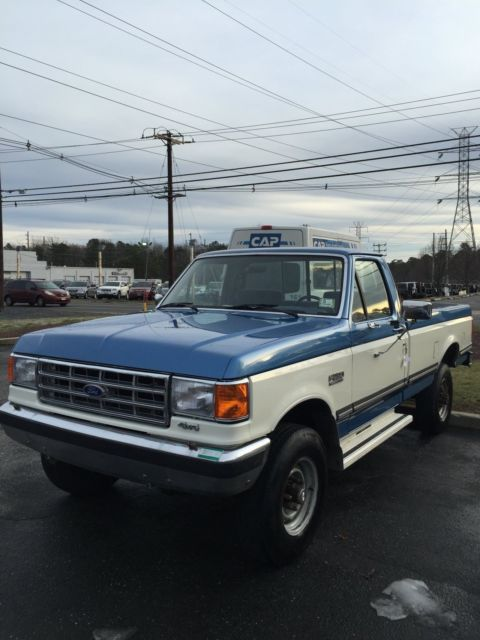 Ford F250 8 Foot Bed For Sale >> 1987 Ford F250 4x4 - Classic Ford F-250 1987 for sale