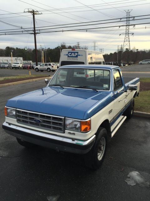 1987 Ford F250 4x4 Classic Ford F 250 1987 For Sale