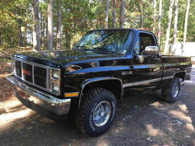 1987 gmc c 10 4x4 short bed chevy silverado rust free classic restored v8 classic gmc sierra. Black Bedroom Furniture Sets. Home Design Ideas
