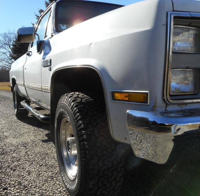 1986 Gmc Sierra For Sale: 1987 GMC Sierra Classic 2500 Turbo Diesel
