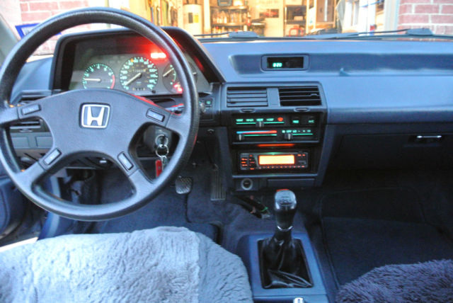 1987 Honda Accord DX Hatchback 3dr - Classic Honda Accord 1987 for sale
