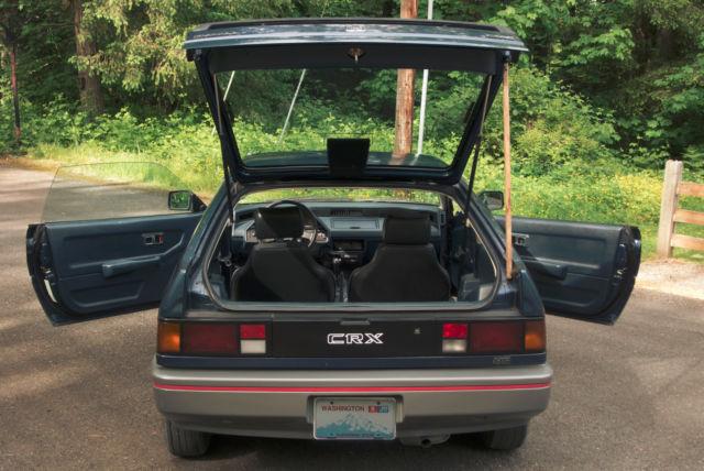Hondas For Sale >> 1987 Honda Civic CRX HF - NO RUST - Newly Rebuilt Engine - Classic Honda CRX 1987 for sale