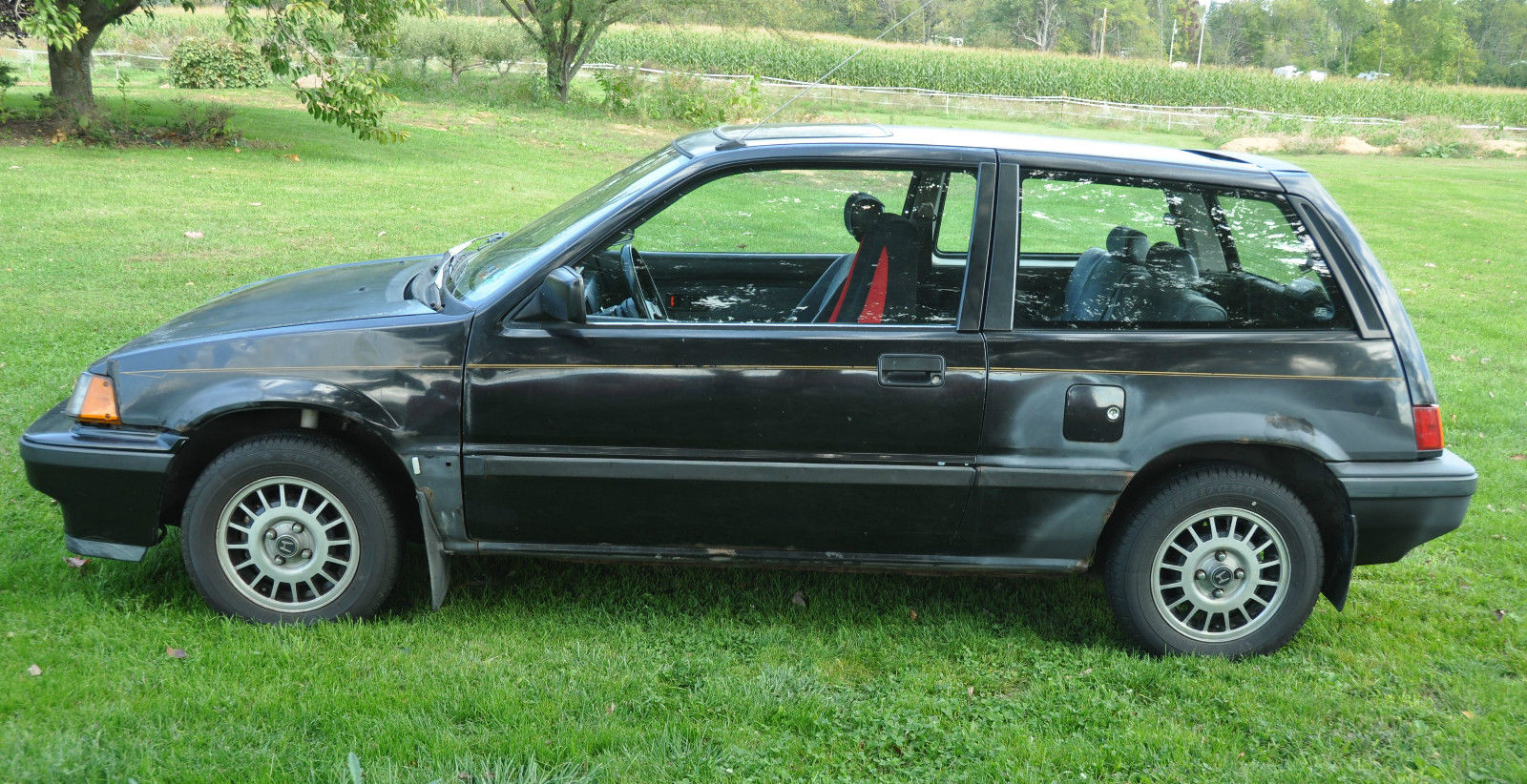 1987 Honda Civic SI Hatchback Excellent Running Great Gas ...
