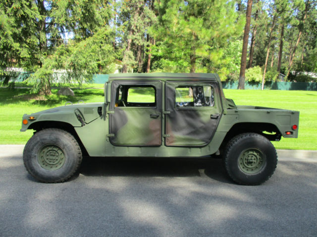 1987 hummer m998 military 4x4 willys mb jeep ww2 wwii ford gpw 1942 1943 1944 classic hummer. Black Bedroom Furniture Sets. Home Design Ideas