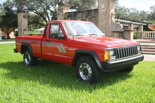 Jeep Comanche Chief Standard Cab Pickup Door L on 2 5l Jeep Engine