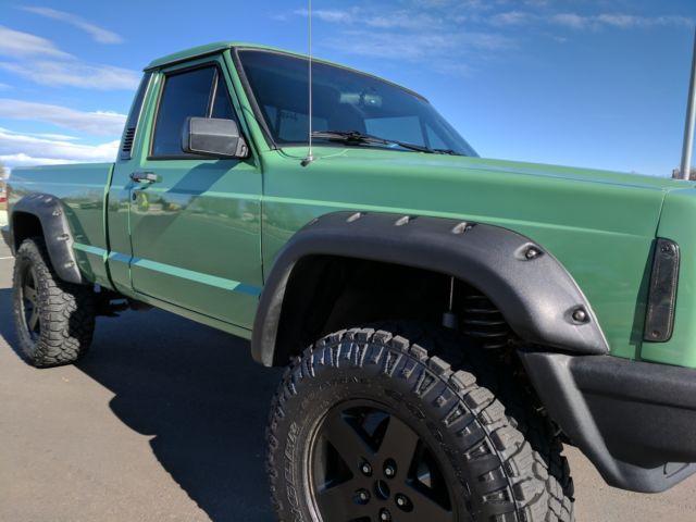 Lifted Jeep Cherokee >> 1987 Jeep Comanche Custom Built Full Restoration Beautiful ...