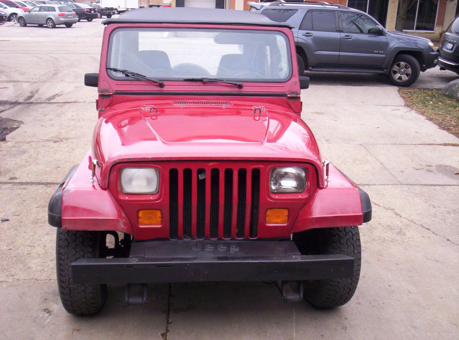 1993 jeep wrangler stick manual