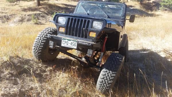 1987 Jeep Wrangler Yj 5 0 V8 T18 Atlas Dana 44 60 4 10 Arb