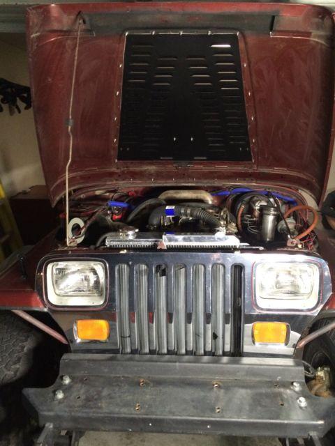 1987 jeep wrangler yj cummins 4bt turbo diesel classic jeep wrangler 1987 for sale. Black Bedroom Furniture Sets. Home Design Ideas