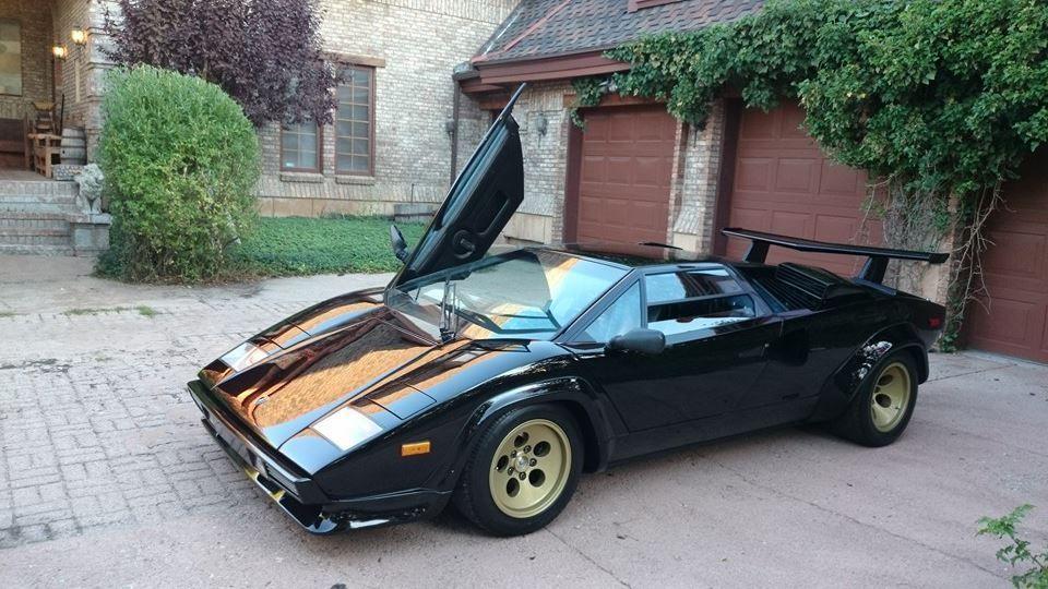 1987 Lamborghini Countach 5000 Quattrovalvole Coupe 2 Door