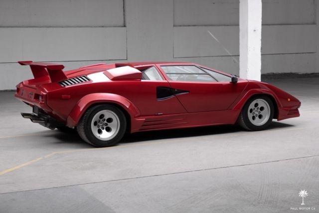 1987 Lamborghini Countach 5000 Qv Engine Restoration New