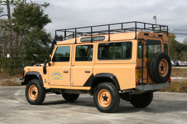 1987 Land Rover Defender Camel Trophy Replica With 300tdi