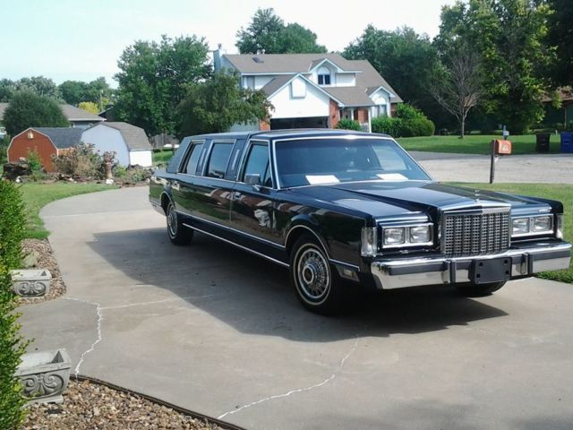 1987 Lincoln Town Car Upscale Luxury Limousine Classic Lincoln Town Car 1987 For Sale