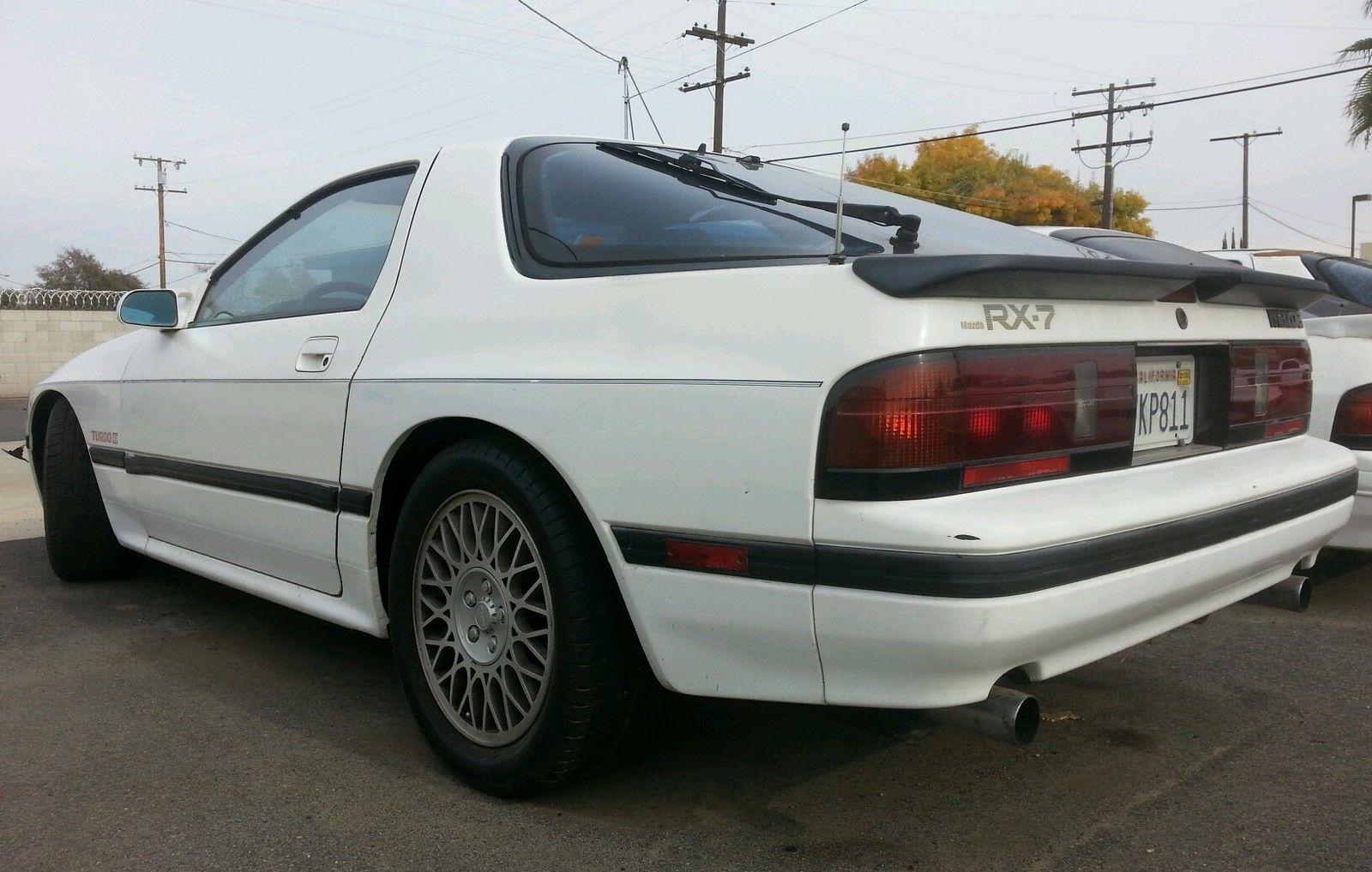 1987 Mazda Rx7 Turbo Ii Turbo 2 T2 Tii 87 S4 Fc 13b 87