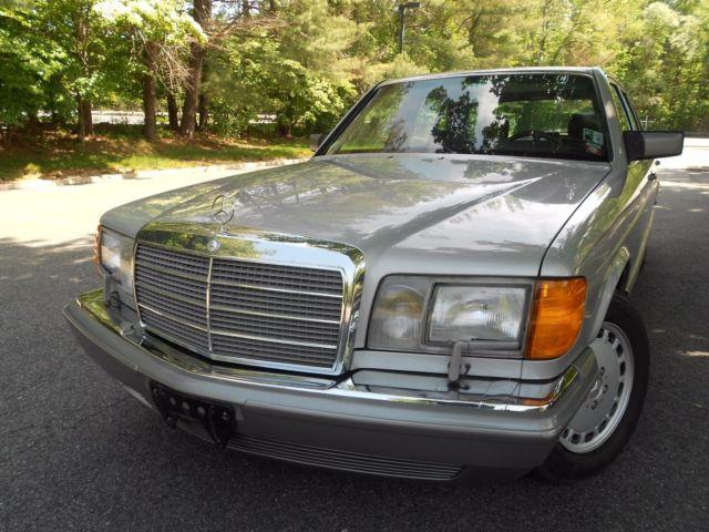 1987 mercedes benz 420sel base sedan 4 door 4 2l one owner for 1987 mercedes benz 420sel