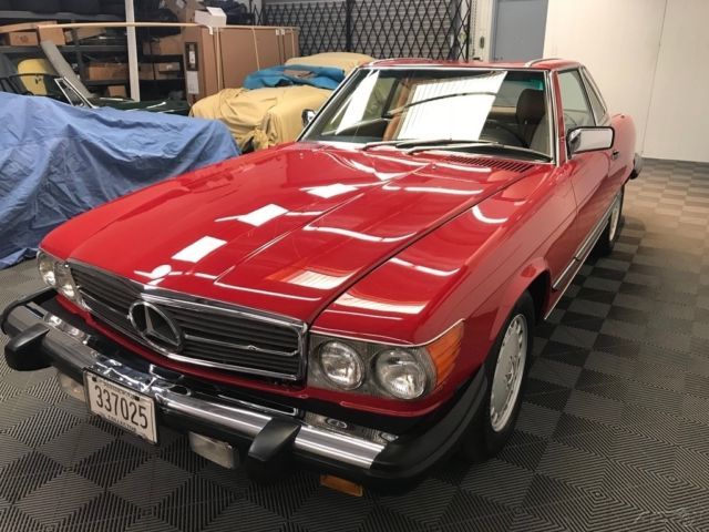 1987 mercedes benz 560 sl convertible 2 owners 72k for Used mercedes benz convertible for sale by owner