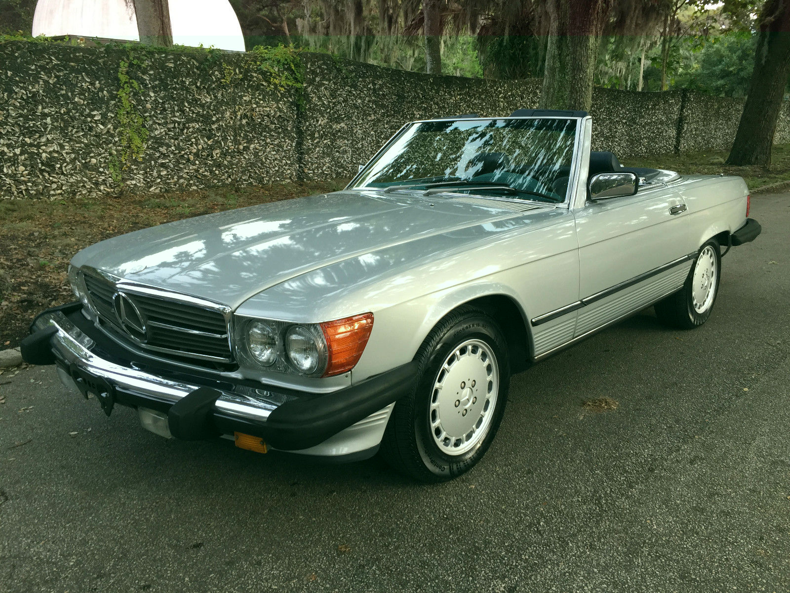 1987 mercedes benz 560 sl convertible rust free service for Mercedes benz sl convertible for sale