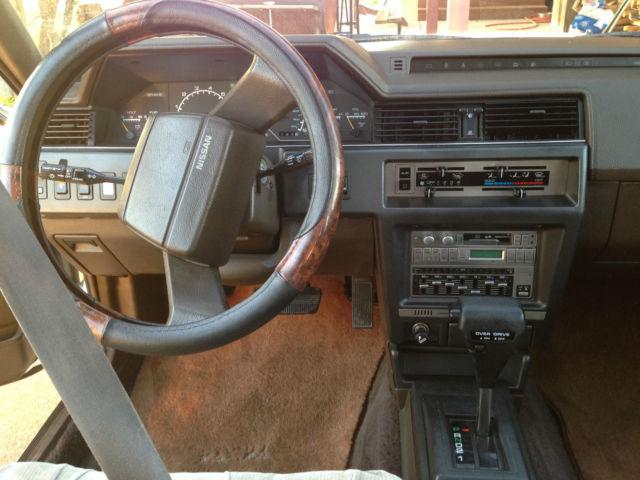 1987 Nissan Maxima SE Sedan 4-Door 3.0L - Classic Nissan ...