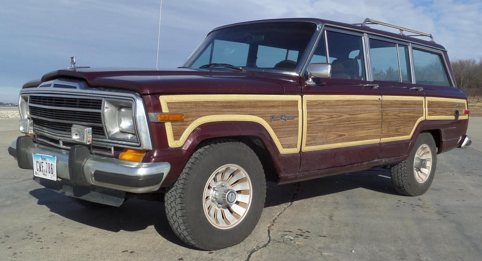 1987 original jeep grand wagoneer sweet waggy a classic classic jeep wagoneer 1987 for sale. Black Bedroom Furniture Sets. Home Design Ideas