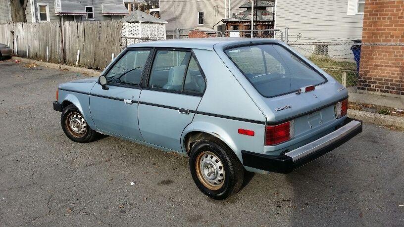 1987 Plymouth Horizon America Hatchback 4 Door 2 2l Low