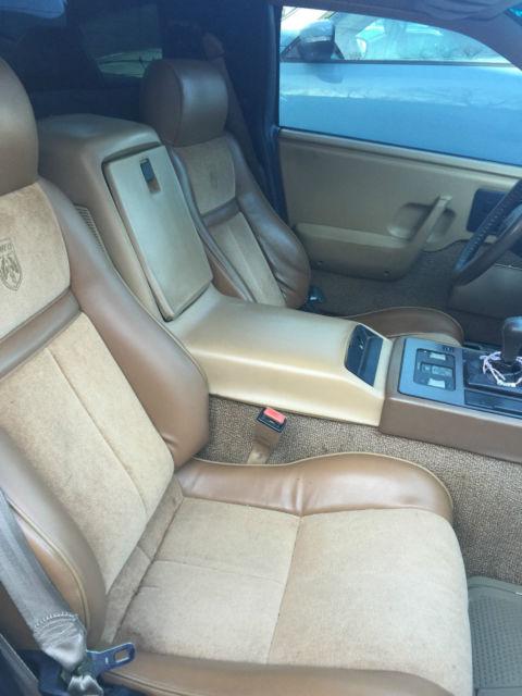 1987 pontiac fiero gt coupe 2 door 3800 supercharged classic pontiac fiero 1987 for sale. Black Bedroom Furniture Sets. Home Design Ideas