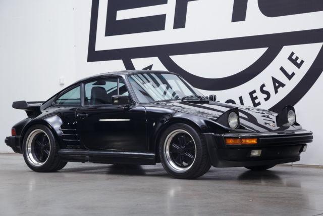 1987 Porsche 911 Turbo 24353 Miles Black 3 3l H6 Sohc 12v
