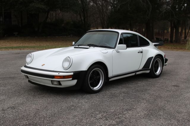 1987 Porsche 930 911 Turbo Classic Porsche 930 1987 For Sale