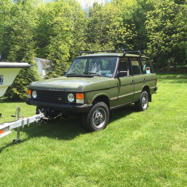 1987 Range Rover Classic Eastnor Green LOTS OF EXTRAS