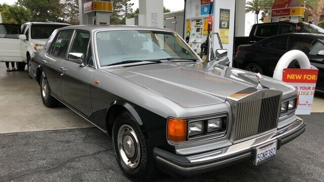1987 Rolls Royce Silver Spirit Only 135 000 Miles  Two