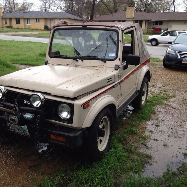 1987 suzuki samurai for parts classic suzuki samurai 1987 for sale. Black Bedroom Furniture Sets. Home Design Ideas