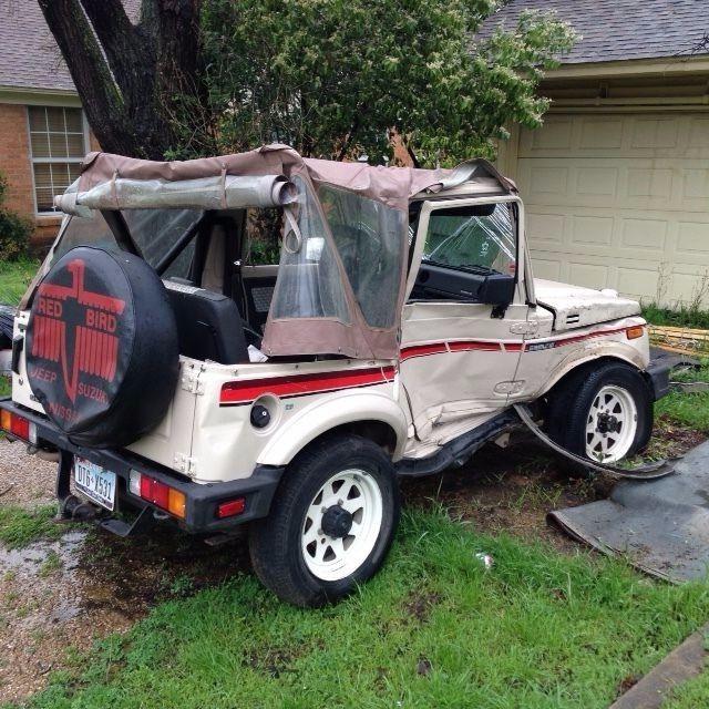 Dallas Classic Cars: 1987 Suzuki Samurai For Parts