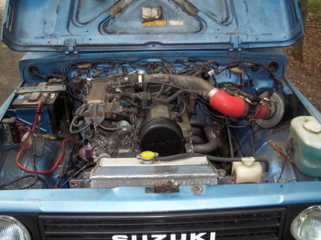 Suzuki Samurai Jx With Sidekick V Professional Install Engine Upgrade on 1995 Suzuki Sidekick