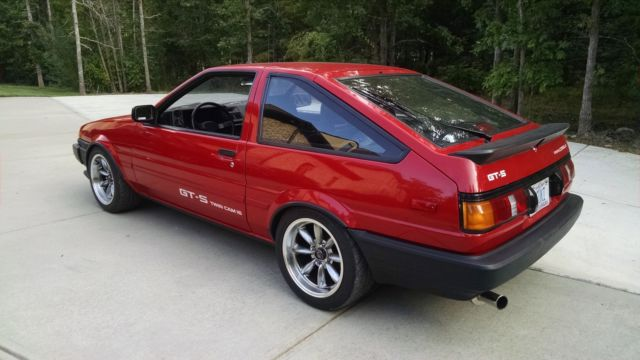 1987 toyota corolla sport gts hatchback 2 door 1 6l one owner classic toyota corolla 1987 for sale. Black Bedroom Furniture Sets. Home Design Ideas