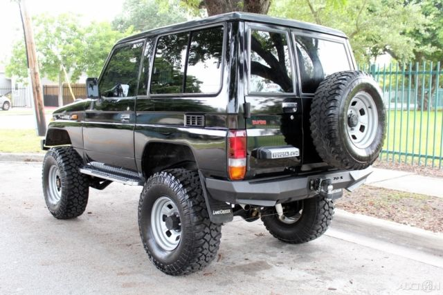 1987 Toyota Land Cruiser Lj 70 Lifted 4cyl Turbo Diesel