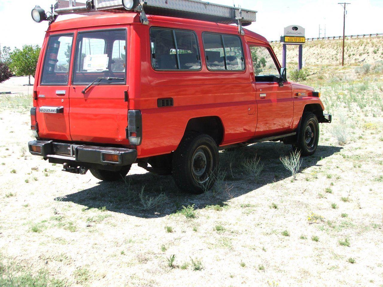 1987 Toyota Landcruiser Bj75 3b Diesel Classic Toyota