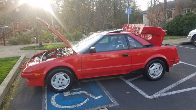 Mr Car Shipper >> 1987 Toyota MR2 1 owner 64k Original miles Clean title & carfax - Classic Toyota MR2 1987 for sale