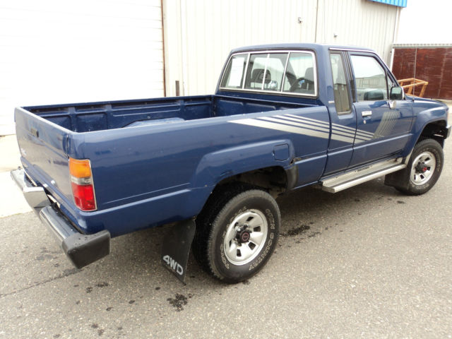 1987 Toyota Pickup Deluxe 4x4 One Owner Low Mileage Rare