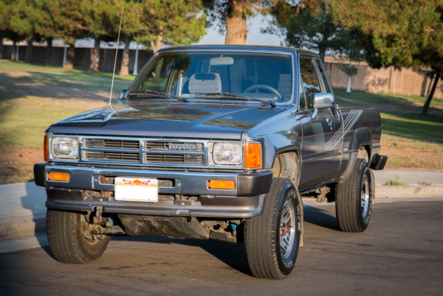 22re Engine For Sale >> 1987 Toyota Pickup DLX Extended Cab 2-Door 2.4L 22RE Classic Truck - Classic Toyota Tacoma 1987 ...