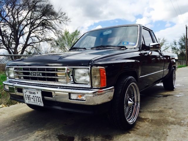 Toyota R22 For Sale >> 1987 Toyota Pickup DLX Extended Cab, Long Bed 2.4L 22R 5-Speed - Classic Toyota Pickup 1987 for sale
