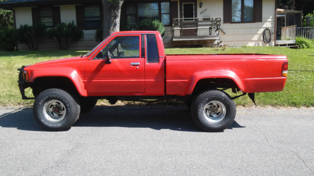 1987 Toyota Pickup Truck 4x4 DLX Extended Cab Pickup 2 ...
