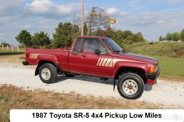 1987 toyota truck manual